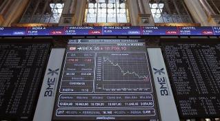 Ibex-35在第三次震荡后以9300点收平