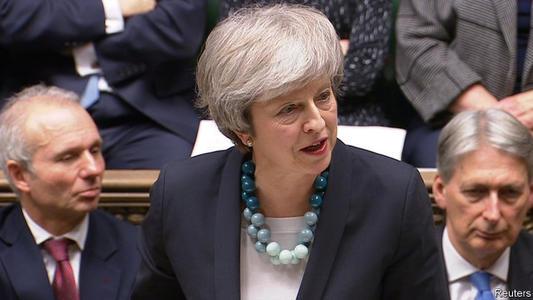 英国首相特丽莎梅将于下周面临一系列紧张的选票