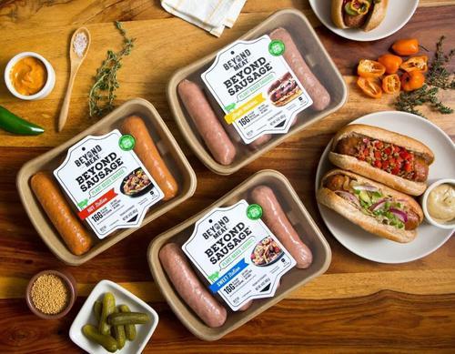 随着Beyond Meat准备首次公开募股 进入主流的是菜单