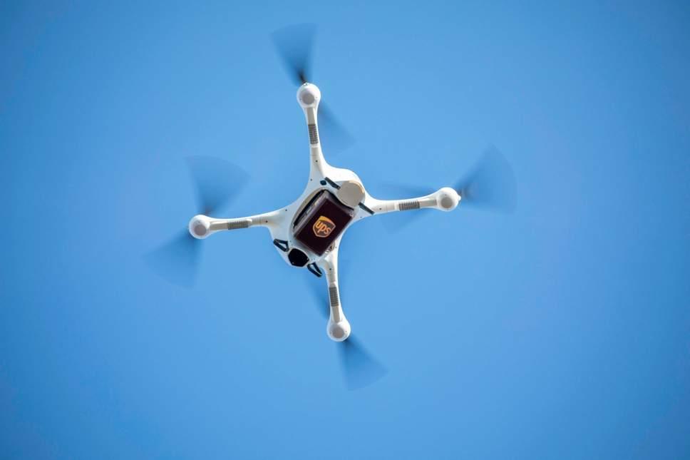 谷歌世界首款无人机送餐服务在澳大利亚起飞