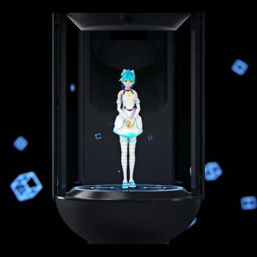 探索人们对虚拟人类视频中几何特征 个性和情感的感知