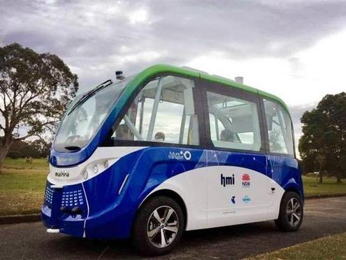 东京机场测试无人驾驶巴士到穿梭游客