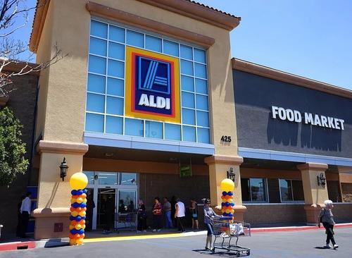 阿尔迪在中国的两家上海店铺首次亮相