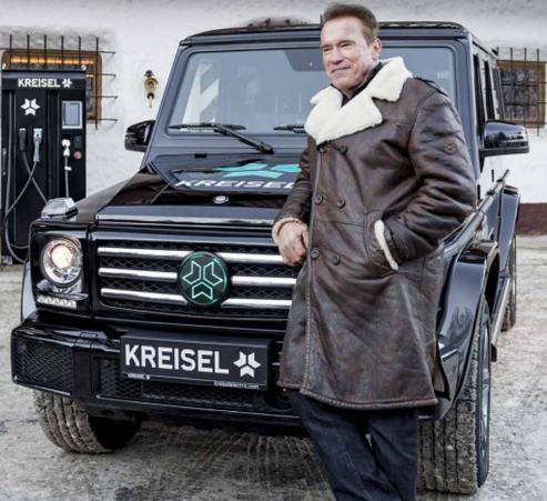 阿诺德施瓦辛格在车辆上的品味一直很不寻常
