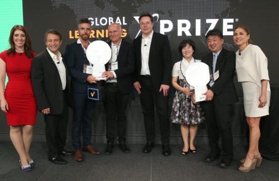在Elon Musk的支持下 全球学习XPRIZE向两个技术团队奖励1000万美元