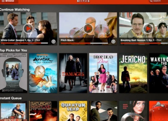 Netflix的Retina Display iPad应用程序更新为高清视频奠定了基础