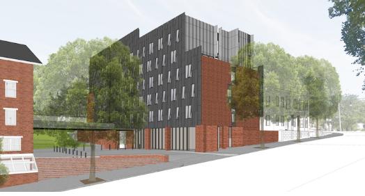 罗德岛设计学院30年来首座新住宅大楼