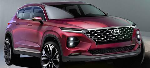 现代汽车发布2018款现代圣达菲SUV