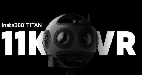 Insta360 Titan利用八个Micro 4/3传感器进行11K视频拍摄
