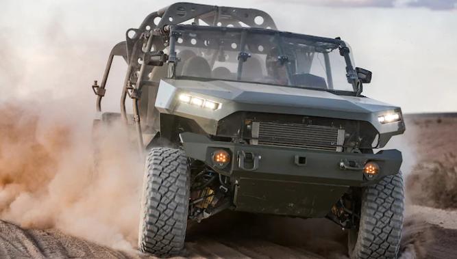 基于雪佛兰科罗拉多ZR2的军用卡车赢得2.14亿美元的军用合同