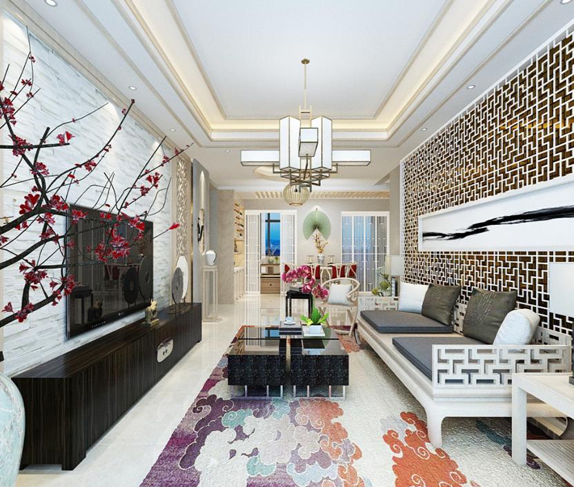 30平三居室中式装修风格美翻了