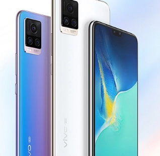 Vivo已在中国推出了其最新的中端S系列中端5G智能手机Vivo S7