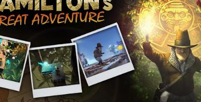 汉密尔顿的大冒险是Tegra3人群的动作益智游戏