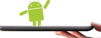 Android现在占据了平板电脑市场的百分之44