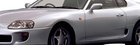 丰田展示A70和A80Supra的新零件