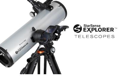 Celestron的新型StarSense Explorer望远镜与手机配对