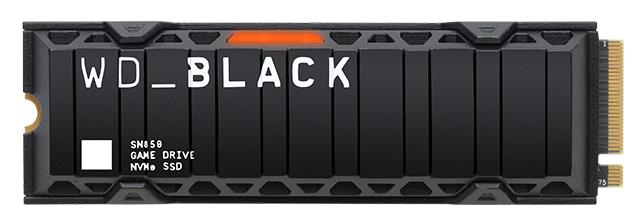 WD Black系列存储卡扩展了三种游戏玩家友好解决方案