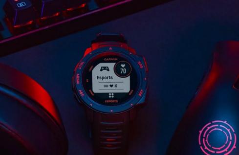 Garmin的新型Smartwatch智能手表可以在直播中显示玩家的生物识别数据