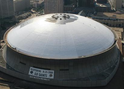 新奥尔良的翻新和弹性圆顶