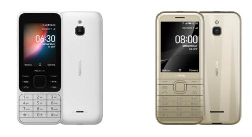 诺基亚6300和诺基亚8000功能手机卷土重来