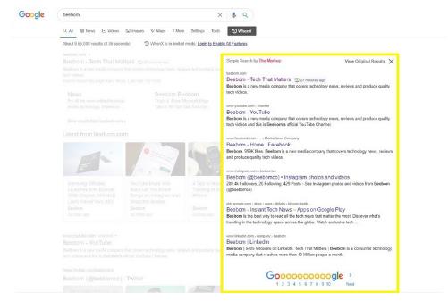 这款超酷的Chrome扩展程序可以带回旧谷歌搜索