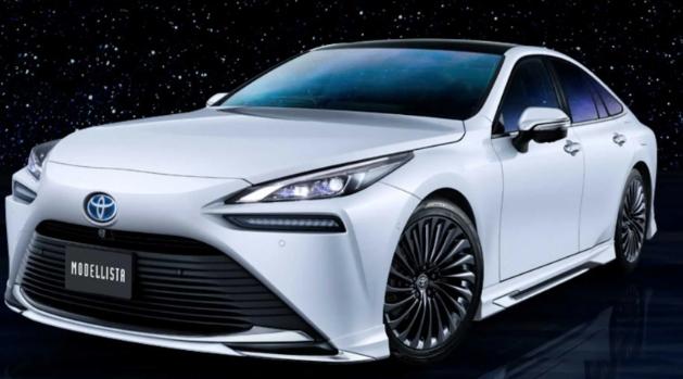 2021年丰田Mirai获得适度的Modellista改头换面