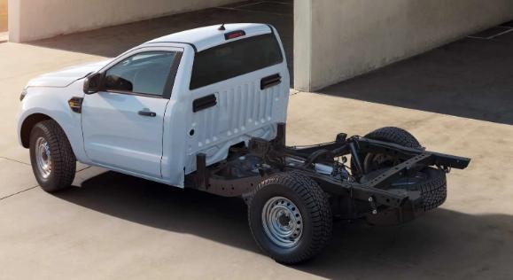 福特游骑兵在欧洲采用全底盘驾驶室模型