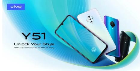 Vivo Y51智能手机价格预计低于20000卢比 即将推出