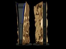 在俄罗斯展示了索尼PlayStation 5表面覆盖有纯金