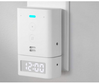 亚马逊的Tiny Echo Flex获得了甚至更小的15美元智能时钟附件