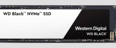 西部数据推出用于4K游戏的M.2SSD