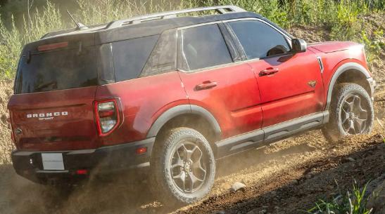 2021年福特Bronco Sport首次回扣以抵消近期价格上涨