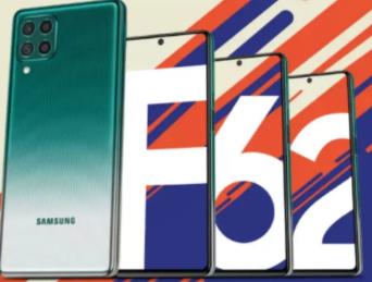 三星Galaxy F62智能手机将于2月15日进入印度市场
