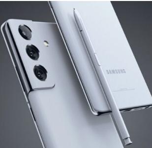 今年可能发布的三星Galaxy Note 21 FE的概念图出现在网上