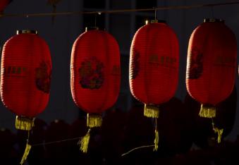 中国住宅设计思想的农历新年庆典