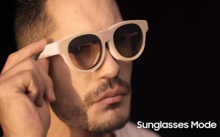 这就是三星的AR眼镜的样子
