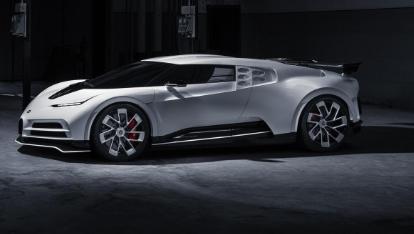 布加迪首款Centodieci原型车亮相量产车型将于2022年问世