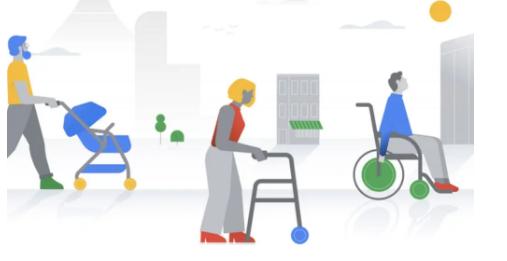 谷歌使在轮椅上可访问的位置更易于在地图上找到