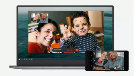 WHATSAPP桌面版本现在允许语音和视频通话