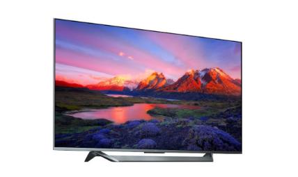 小米推出了MiTVQ1电视具有75英寸的边缘到边缘显示器