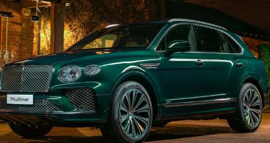 Mulliner的独特宾利Bentayga混合动力车非常绿色