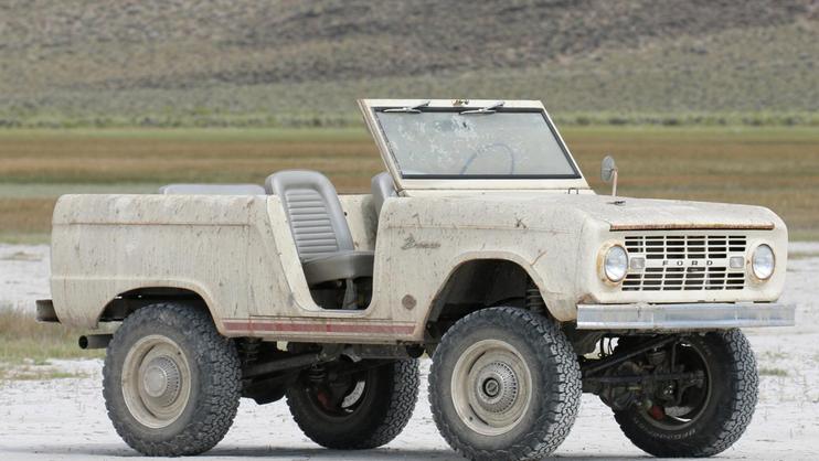 这件1966年的废弃品是Icon最新推出的restomod野马