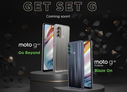 摩托罗拉通MotoG60和MotoG40Fusion将于4月20日发布