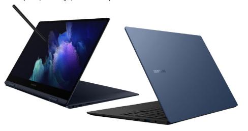 三星推出支持触摸屏的GalaxyBookPro和GalaxyBookPro360笔记本电脑