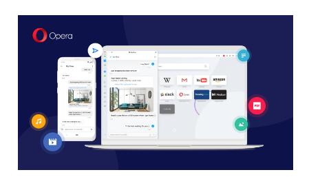 Opera在安卓和桌面浏览器之间引入了QR码同步