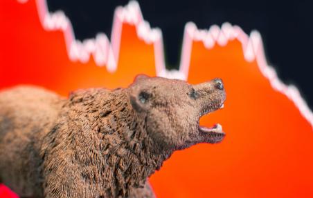 中国电子商务巨头阿里巴巴集团的股价下跌5.5%