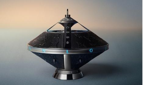 路易威登的新型无线扬声器看起来像一个非常昂贵的UFO