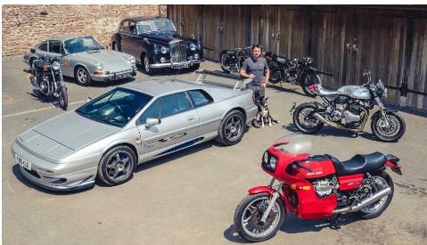 理查德哈蒙德出售他的一些老爷车来修复其他人