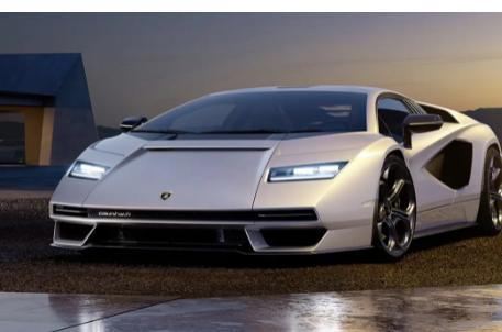 兰博基尼Countach可能是世界上最知名的汽车之一