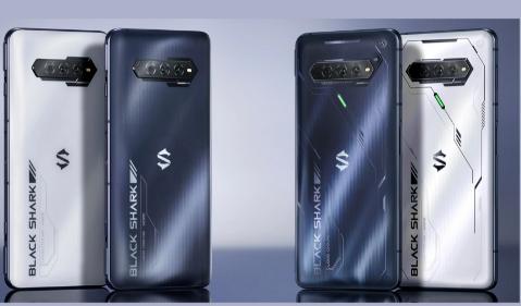 黑鲨4S和4SPro智能手机推出压感显示屏和全新设计
